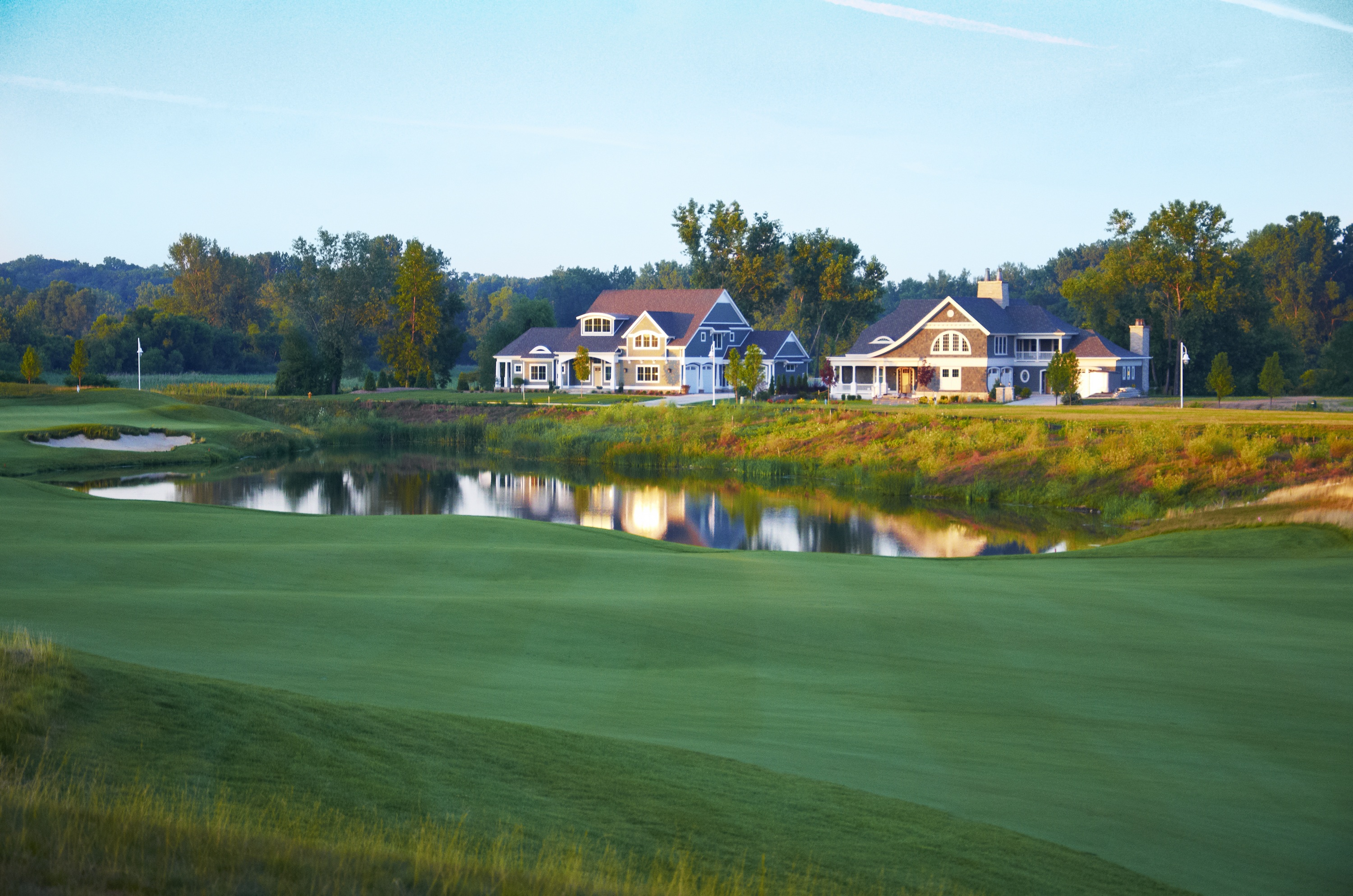 Harbor Shores' fantastic Fairway Villas offer homebuyers 5 years of free golf, VIP access to the 2012 Senior PGA Championship, and the ultimate in golf lifestyle. The development recently donated homesites to Habitat For Humanity.