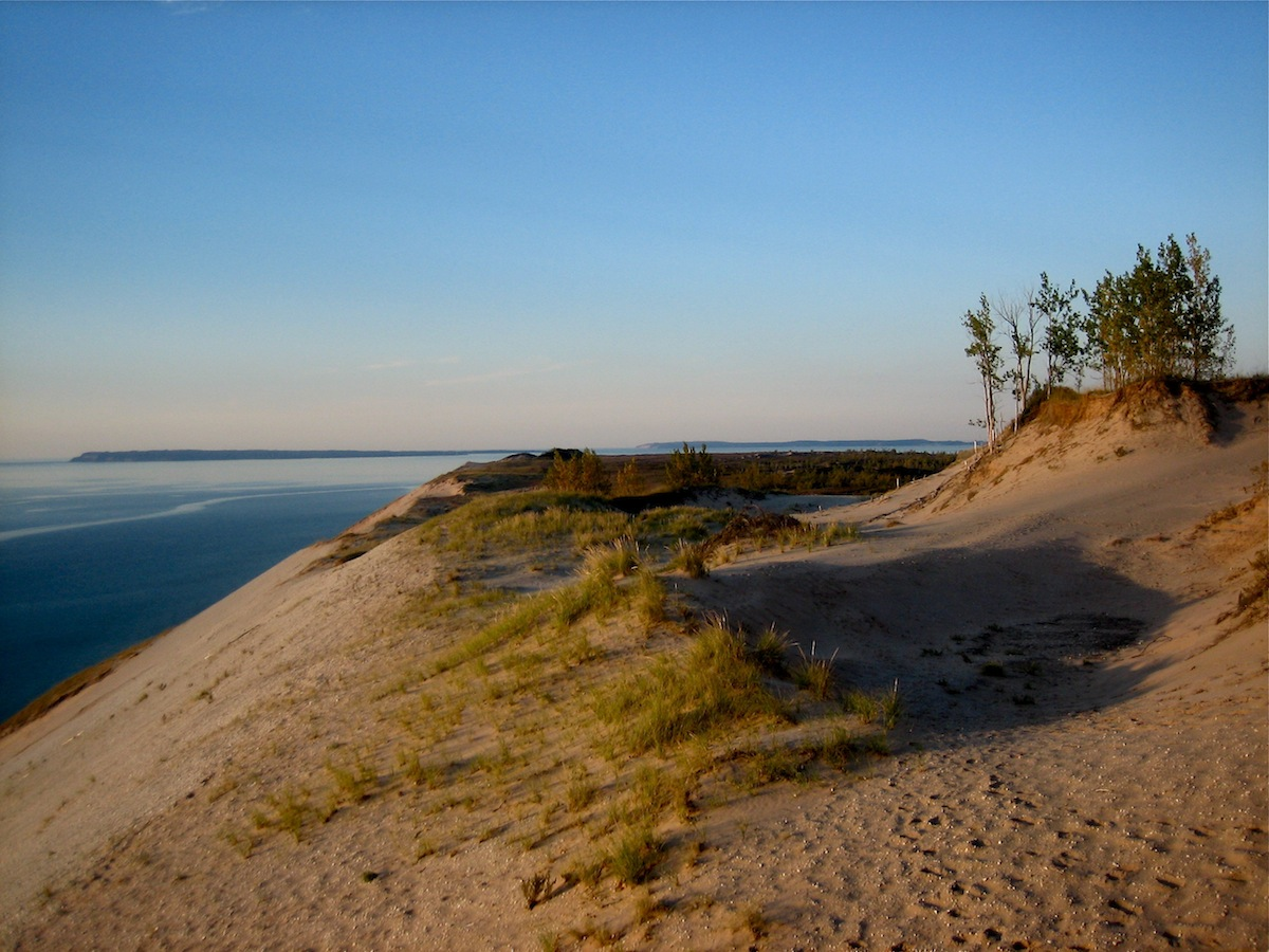 "Sleeping Bear Dunes National Lakeshore was named ""America's Most Beautiful Place,"" by Good Morning America. Clearly, it's well-deserved. Photo by Don Shell."